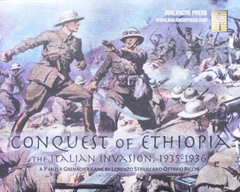 Conquest of Ethiopia boxcover