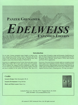 Edelweiss: Expanded boxcover