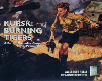 Kursk - Burning Tigers boxcover