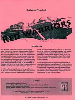 Red Warriors boxcover
