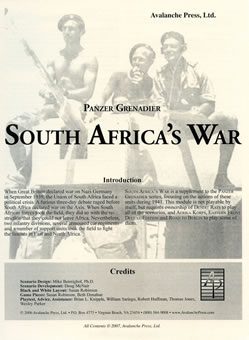 South Africa's War boxcover