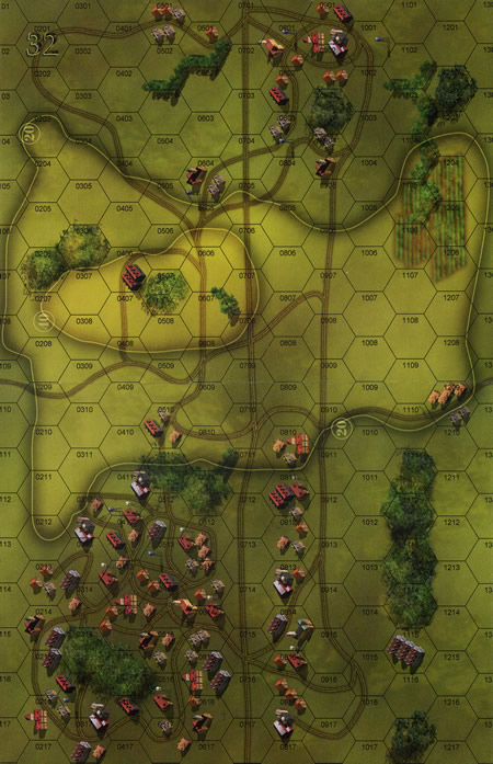 Panzer Grenadier Headquarters - Library: Map 32