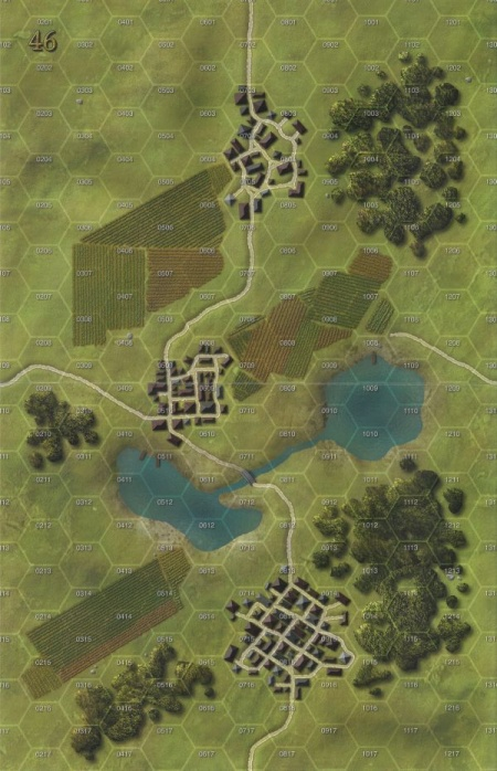 Panzer Grenadier Headquarters - Library: Map 46