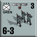 Panzer Grenadier Headquarters Library Unit: Germany Heer GREN for Panzer Grenadier game series