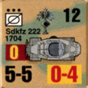Panzer Grenadier Headquarters Library Unit: Germany Heer SdKfz-222 for Panzer Grenadier game series