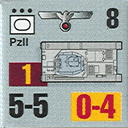 Panzer Grenadier Headquarters Library Unit: Germany Heer PzII for Panzer Grenadier game series