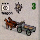 Panzer Grenadier Headquarters Library Unit: Germany Heer Wagon for Panzer Grenadier game series