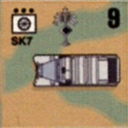 Panzer Grenadier Headquarters Library Unit: Germany Heer SdKfz-7 for Panzer Grenadier game series