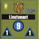Panzer Grenadier Headquarters Library Unit: United States Army Lieutenant for Panzer Grenadier game series