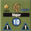 Panzer Grenadier Headquarters Library Unit: United States Army Major for Panzer Grenadier game series