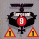 Panzer Grenadier Headquarters Library Unit: Germany Heer Sergeant for Panzer Grenadier game series