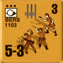 Panzer Grenadier Headquarters Library Unit: Italy Regio Esercito BERS for Panzer Grenadier game series